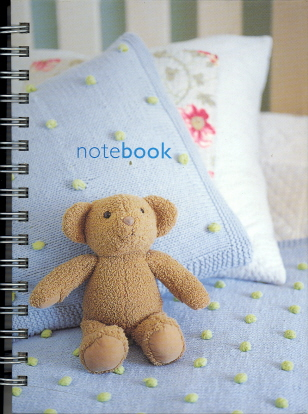 Soft Toy Themed Mini Notebook