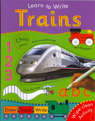 Trains (Learn To Write)