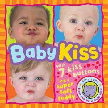 Baby Kiss with 7 Kiss Buttons and a Super Soft Bear