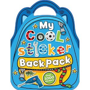 My Cool Sticker Backpack (Blue)