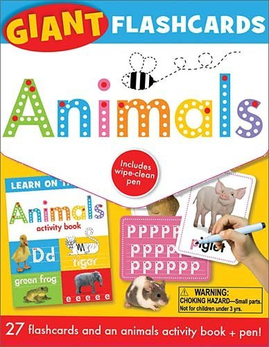 Animals (Giant Flashcards)