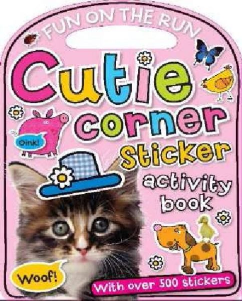 My Cutie Corner Sticker Book (Carry-Me)