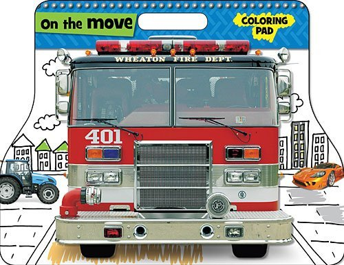 On The Move Coloring Pad (Small)