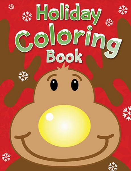 Holiday Coloring Book (Reindeer)