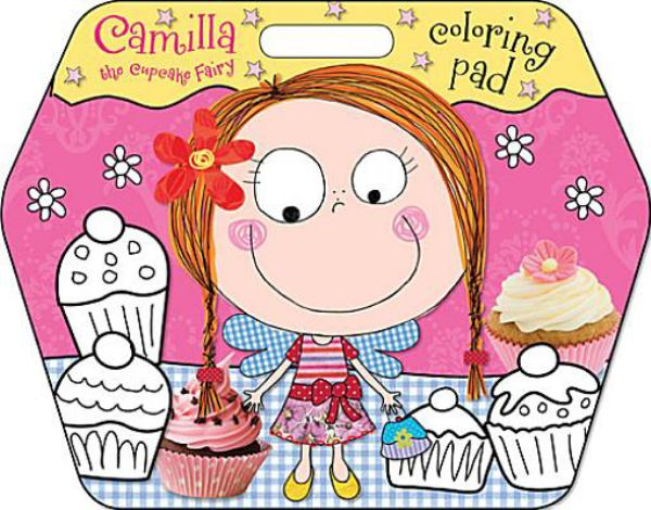 Camilla the Cupcake Fairy:  Coloring Pad