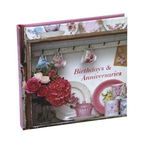 Romantic Style Birthday and Anniversaries Book (Paperstyle)