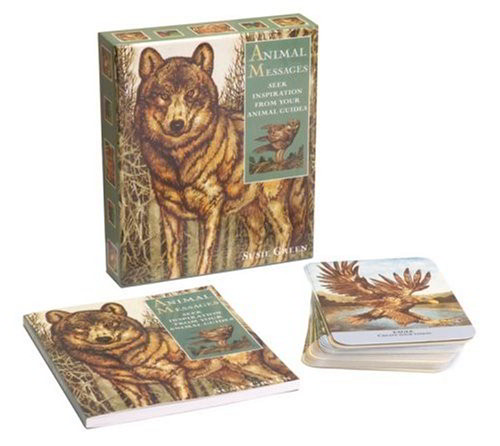 Animal Messages (Book & Card Set)