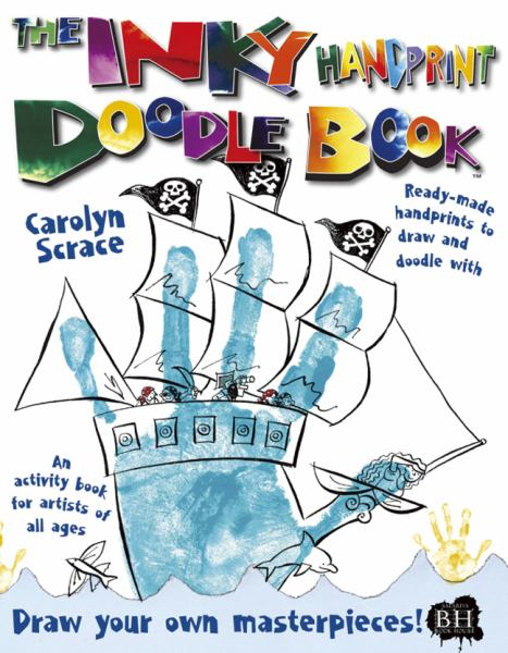 The Inky Handprint Doodle Book