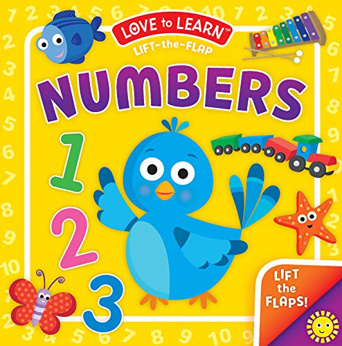 Numbers Lift-the-Flap Book (Love to Learn)