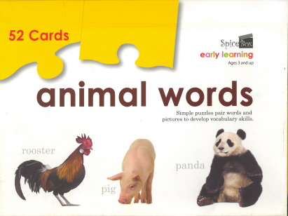 Animal Words (Early Learning)