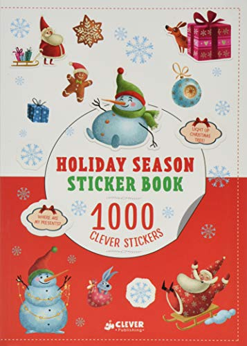 Holiday Season Sticker Book: 1000 Clever Stickers