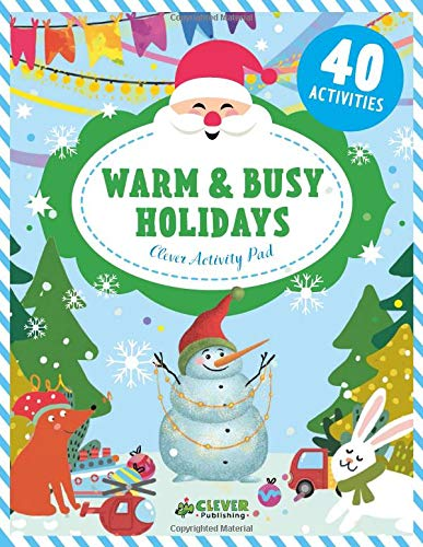 Warm & Busy Holidays (Clever Activity Pad)