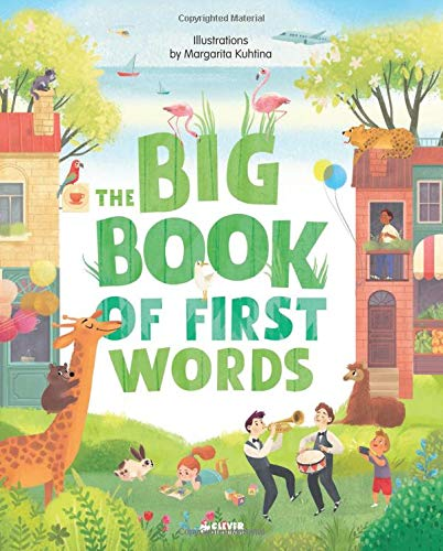 The Big Book of First Words (Clever Big Books)