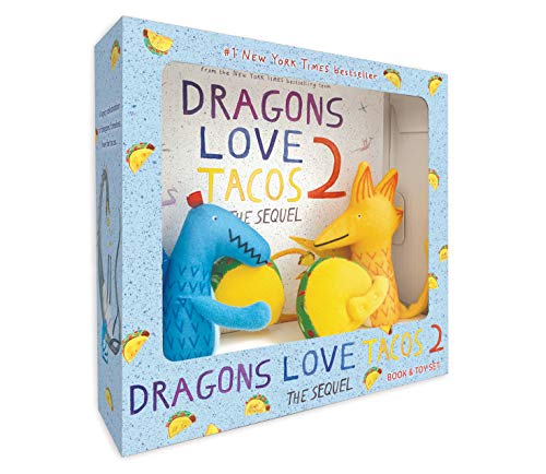 Dragons Love Tacos 2 (Book and Toy Set)