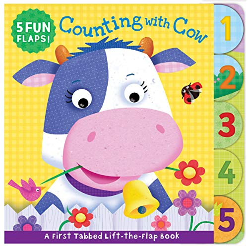 Counting with Cow (First Tabbed Lift-the-Flap Board Book)