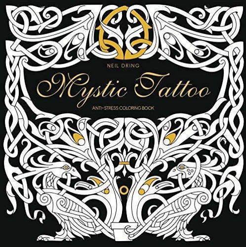 Mystic Tattoo Anti Stress Coloring Book