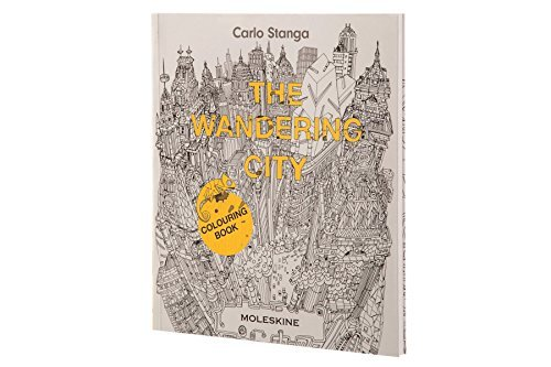 The Wandering City  Colouring Book