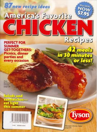 America's Favorite Chicken Recipes (Vol.1 No.2)