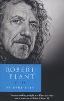 Robert Plant: A Life 9780007514892