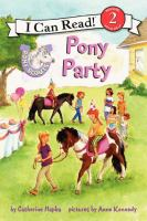 Pony Party  (Pony Scouts) 9780062086808