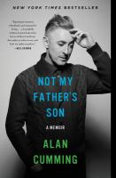 Not My Father's Son 9780062225078
