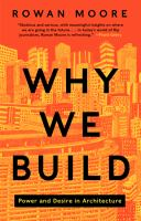 Why We Build 9780062277565