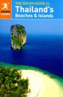 The Rough Guide to Thailand's Beaches and Islands 9780241188323