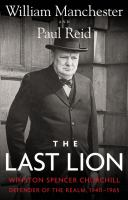 The Last Lion 9780316547703