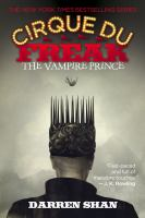 The Vampire Prince (Cirque Du Freak, Bk.6) 9780316602747