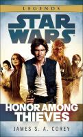 Honor among Thieves (Star Wars - Legends) 9780345546876