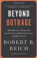 Beyond Outrage 9780345804372