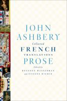 Collected French Translations: Prose 9780374258030
