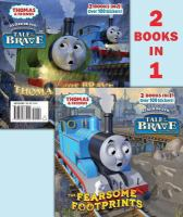 The Fearsome Footprints/Thomas the Brave (Thomas and Friends) 9780385373920