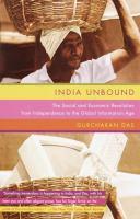 India Unbound 9780385720748