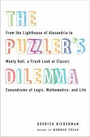 The Puzzler's Dilemma 9780399537295