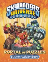 Portal of Puzzles Sticker Activity Book (Skylanders Universe) 9780448464923