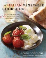The Italian Vegetable Cookbook 9780547909165