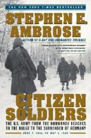 Citizen Soldiers 9780684848013