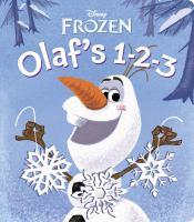 Olaf's 1-2-3 (Disney Frozen) 9780736430647