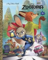 Disney Zootopia (Big Golden Book) 9780736433846