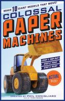 Colossal Paper Machines 9780761176404