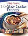 Betty Crocker's Easy Slow Cooker Dinners 9780764565311