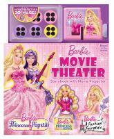 Movie Theater Storybook & Movie Projector (Barbie) 9780794427023