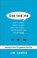God Told Me 9780801014116