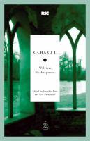 Richard II (Modern Library Classics) 9780812969306