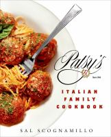 Patsy's Italian Family Cookbook 9781250039392