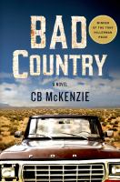 Bad Country 9781250053541