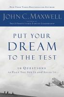 Put Your Dream to the Test 9781400200405