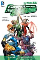 Green Lantern: New Guardians (Vol. 1, The Ring Bearer (The New 52) 9781401237080