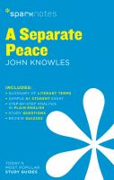 A Separate Peace 9781411469792